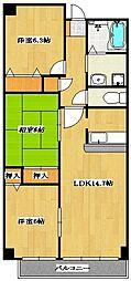 Sunsky 〜サンスカイ〜[10階]の間取り