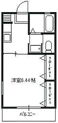 エスポワール・アキ[2階]の間取り