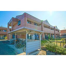 岡山県岡山市東区西大寺松崎の賃貸アパートの外観