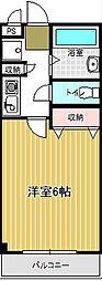 コンフォ−ト下町[2階]の間取り