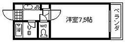アップルマンション[306号室]の間取り