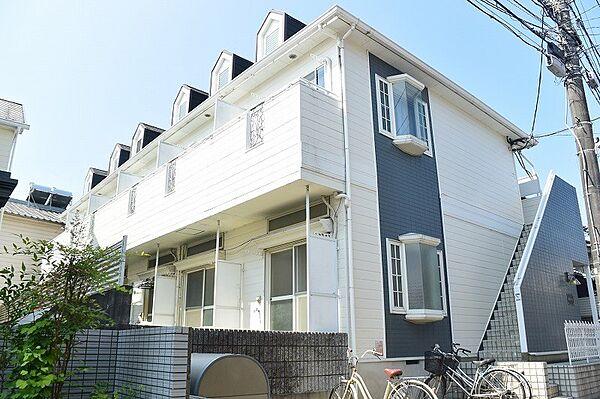 川田マンション[2階]の外観