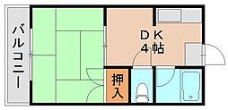 グリーンハイツ光吉[2階]の間取り