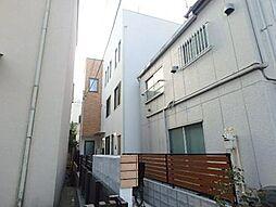 東京都文京区本駒込2丁目の賃貸アパートの外観