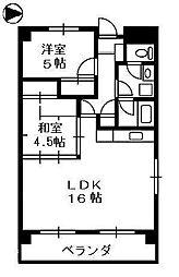 アーク高田仲町[8階]の間取り