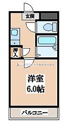 大阪府東大阪市近江堂3丁目の賃貸マンションの間取り