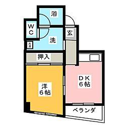 MOWAビル[4階]の間取り
