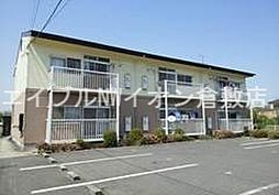 岡山県倉敷市玉島黒崎の賃貸アパートの外観