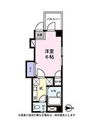 東京都葛飾区高砂5の賃貸マンションの間取り