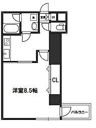 リバーコート[4階]の間取り