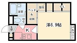 英賀保駅 3.7万円