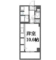 北海道札幌市豊平区平岸六条15丁目の賃貸マンションの間取り