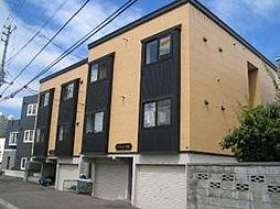 北海道札幌市豊平区平岸一条2丁目の賃貸アパートの外観