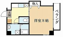 Villa榎[3階]の間取り