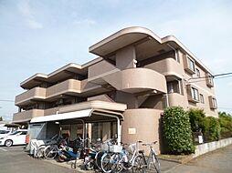 東京都武蔵村山市残堀2丁目の賃貸マンションの外観