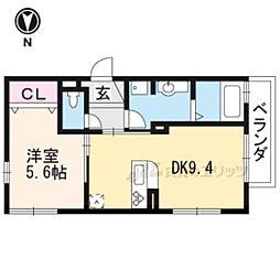 JR奈良線 JR藤森駅 徒歩6分の賃貸アパート