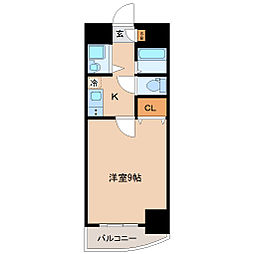 グラン・ドミール新寺[3階]の間取り