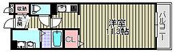 アンソレイエ1[105号室]の間取り