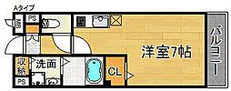 パークビサイド[2階]の間取り
