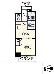 MEIBOU TESERA[11階]の間取り