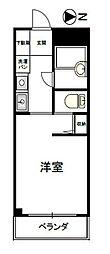 ナカジママンション[3階]の間取り