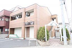 埼玉県日高市高麗川3丁目の賃貸アパートの外観