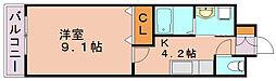 アビランス・K[3階]の間取り