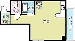 パシフィック片野[5階]の間取り
