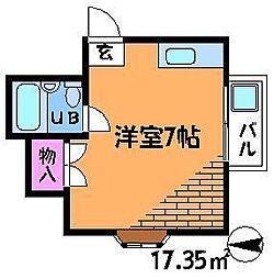 AKハイツ[2階]の間取り