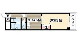 ユーハイツ三和II[2階]の間取り