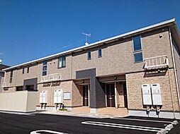 広島県広島市安佐北区亀山1丁目の賃貸アパートの外観