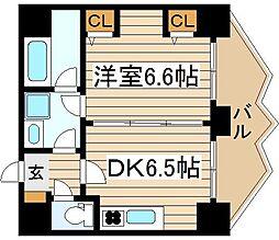 ZEUS 20XX[4階]の間取り