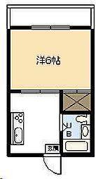 今村コーポ[205号室]の間取り