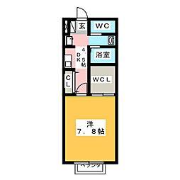 MIYAVI A棟[2階]の間取り