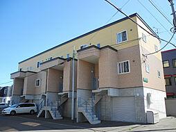 [タウンハウス] 北海道札幌市北区太平二条3丁目 の賃貸【北海道 / 札幌市北区】の外観