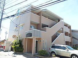 愛知県岡崎市大平町字建石の賃貸マンションの外観
