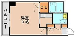 プリメール箱崎2[2階]の間取り
