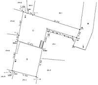 分割図231.36平米、164.80平米合計396.16平米