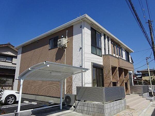 (仮称)市原市山田橋新築アパート[201号室]の外観
