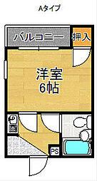 ロイヤルヴィラ[5階]の間取り
