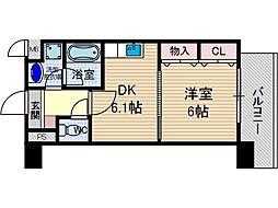 サクシード胤[3階]の間取り