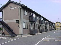 広島県福山市東川口町2丁目の賃貸アパートの外観
