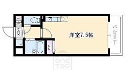 プレサンス京都清水[5階]の間取り