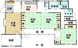 [一戸建] 青森県弘前市大字寒沢町 の賃貸【/】の間取り