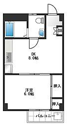 ハイツ今栄[3階]の間取り