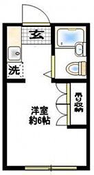 エンゼル西生田A棟[1階]の間取り