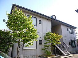 兵庫県西宮市分銅町の賃貸アパートの外観