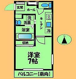 神奈川県相模原市中央区相模原1丁目の賃貸マンションの間取り