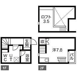 LE COCON豊田A棟[2階]の間取り