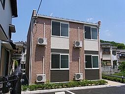 大阪府高槻市古曽部町3丁目の賃貸アパートの外観